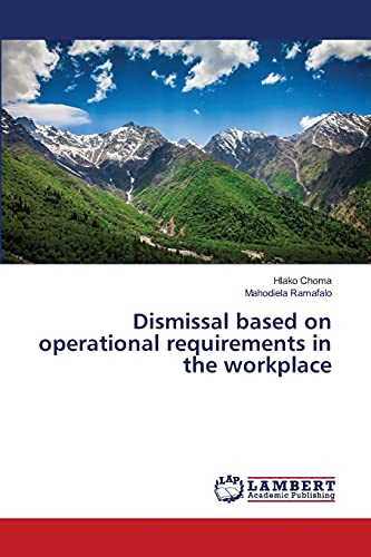 9783659235658: Dismissal based on operational requirements in the workplace