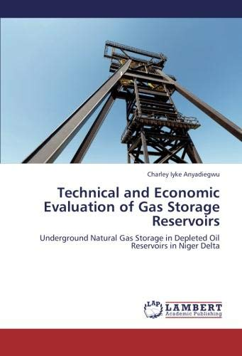 Technical and Economic Evaluation of Gas Storage Reservoirs: Underground Natural Gas Storage in ...