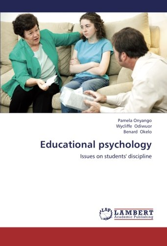 9783659244834: Educational psychology: Issues on students' discipline