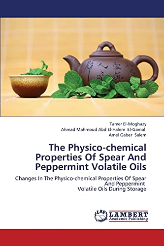 The Physico-Chemical Properties of Spear and Peppermint Volatile Oils: Tamer El-Moghazy