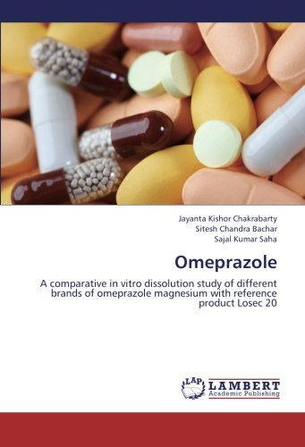 9783659253959: Omeprazole: A comparative in vitro dissolution study of different brands of omeprazole magnesium with reference product Losec 20