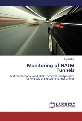 9783659258794: Monitoring of NATM Tunnels: A Micromechanics and Shell Theory based Approach for Analysis of Shotcrete Tunnel Linings