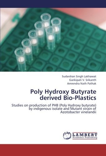 9783659258855: Poly Hydroxy Butyrate derived Bio-Plastics: Studies on production of PHB (Poly Hydroxy butyrate) by indigenous isolate and Mutant strain of Azotobacter vinelandii