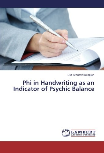 9783659260520: Phi in Handwriting as an Indicator of Psychic Balance
