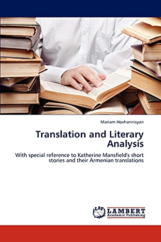 Translation and Literary Analysis: Mariam Hovhannisyan