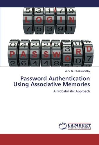 9783659267970: Password Authentication Using Associative Memories: A Probabilistic Approach