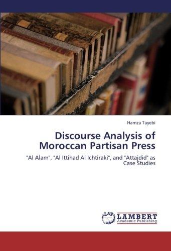 9783659269813: Discourse Analysis of Moroccan Partisan Press: