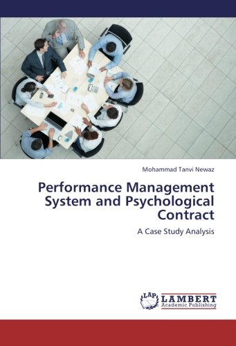 9783659279591: Performance Management System and Psychological Contract: A Case Study Analysis