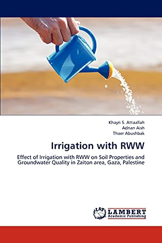 Irrigation with Rww: Attaallah Khayri S.