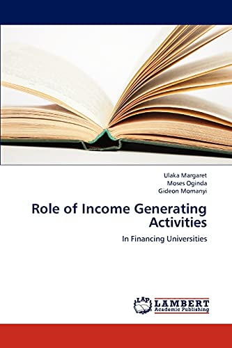 Role of Income Generating Activities: Ulaka Margaret