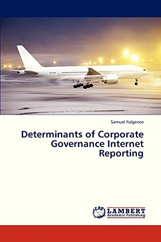 9783659311055: Determinants of Corporate Governance Internet Reporting