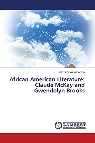 9783659316609: African American Literature: Claude McKay and Gwendolyn Brooks
