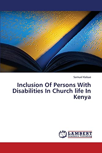 9783659322006: Inclusion of Persons with Disabilities in Church Life in Kenya
