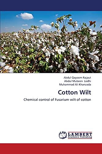 Cotton Wilt: Rajput Abdul Qayoom;