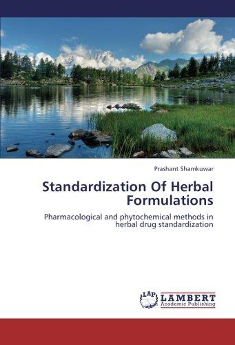 9783659339622: Standardization Of Herbal Formulations: Pharmacological and phytochemical methods in herbal drug standardization