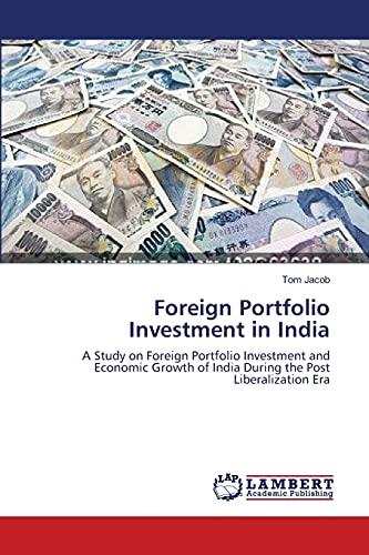 Foreign Portfolio Investment in India: Tom Jacob