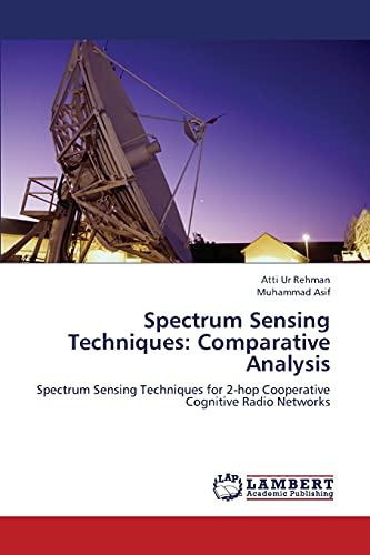 Spectrum Sensing Techniques: Comparative Analysis: Muhammad Asif