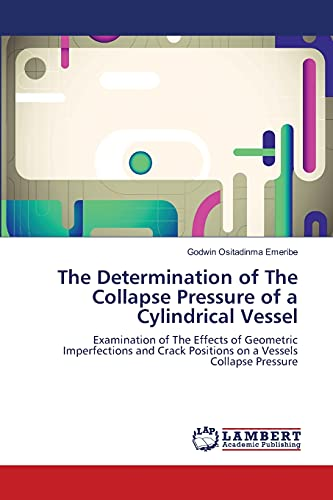 The Determination of the Collapse Pressure of a Cylindrical Vessel: Godwin Ositadinma Emeribe