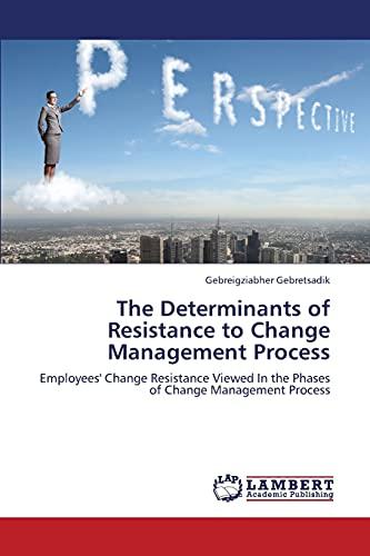 The Determinants of Resistance to Change Management Process (Paperback): Gebretsadik Gebreigziabher