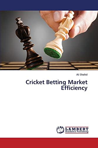 9783659373350: Cricket Betting Market Efficiency