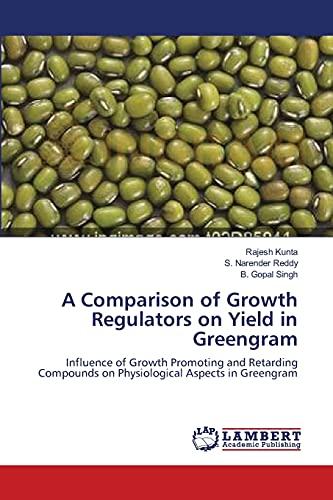 Comparison of Growth Regulators On Yield in: Kunta Rajesh, Reddy