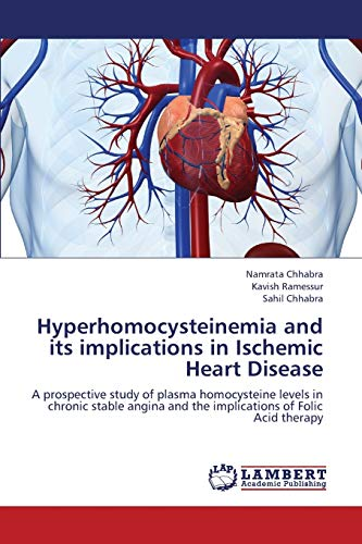 9783659384356: Hyperhomocysteinemia and its implications in Ischemic Heart Disease: A prospective study of plasma homocysteine levels in chronic stable angina and the implications of Folic Acid therapy