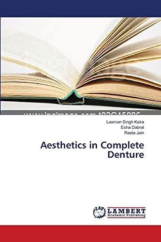 9783659398933: Aesthetics in Complete Denture