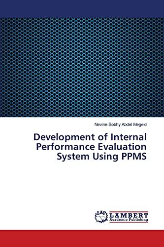 9783659399091: Development of Internal Performance Evaluation System Using PPMS