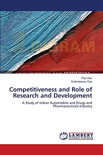 Competitiveness and Role of Research and Development: SUBHRABARAN DAS