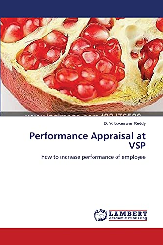 Performance Appraisal at Vsp: D. V. Lokeswar Reddy