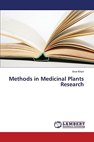 9783659422140: Methods in Medicinal Plants Research