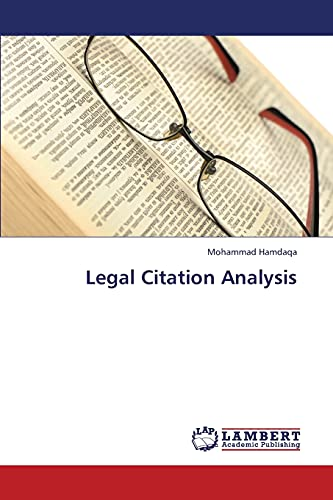Legal Citation Analysis: Mohammad Hamdaqa