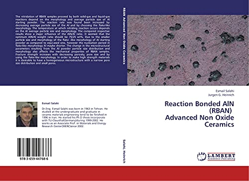 Reaction Bonded AlN (RBAN) Advanced Non Oxide Ceramics (Paperback): Esmail Salahi, Jurgen G. ...