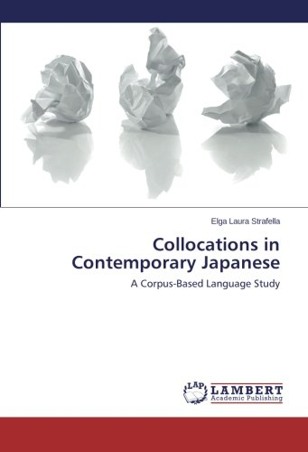9783659455681: Collocations in Contemporary Japanese: A Corpus-Based Language Study