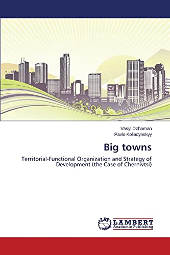 9783659459504: Big towns: Territorial-Functional Organization and Strategy of Development (the Case of Chernivtsi)