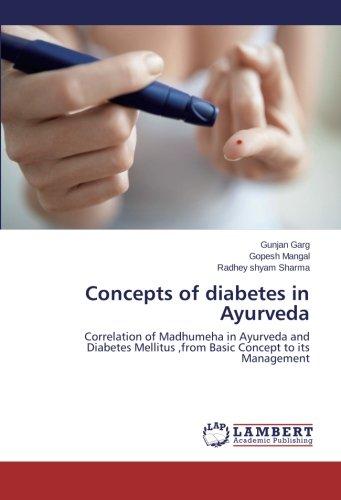 Concepts of diabetes in Ayurveda: Garg, Gunjan /