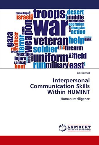 9783659471209: Interpersonal Communication Skills Within HUMINT: Human Intelligence