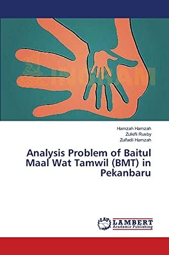 9783659483059: Analysis Problem of Baitul Maal Wat Tamwil (BMT) in Pekanbaru