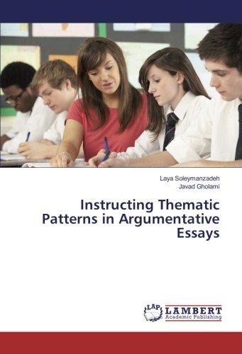 Instructing Thematic Patterns in Argumentative Essays: Soleymanzadeh, Laya /