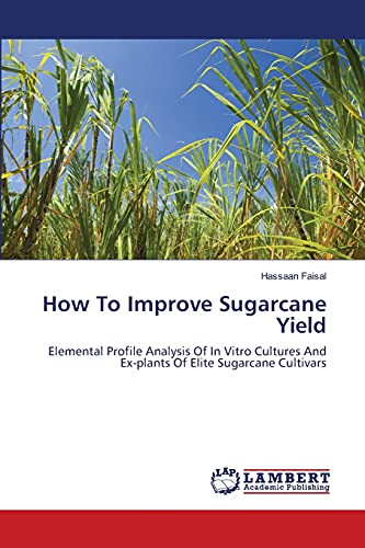 9783659492112: How To Improve Sugarcane Yield: Elemental Profile Analysis Of In Vitro Cultures And Ex-plants Of Elite Sugarcane Cultivars