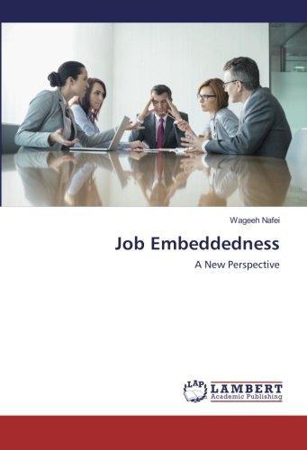 Job Embeddedness: Nafei, Wageeh