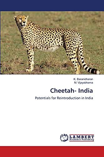 Cheetah- India: Baranidharan, K. /