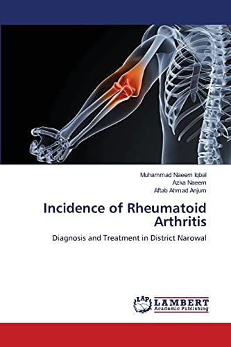 Incidence of Rheumatoid Arthritis: Iqbal Muhammad Naeem