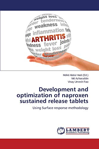 Development and Optimization of Naproxen Sustained Release Tablets: Md Azharuddin