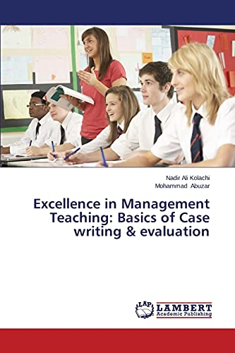 9783659531019: Excellence in Management Teaching: Basics of Case writing & evaluation