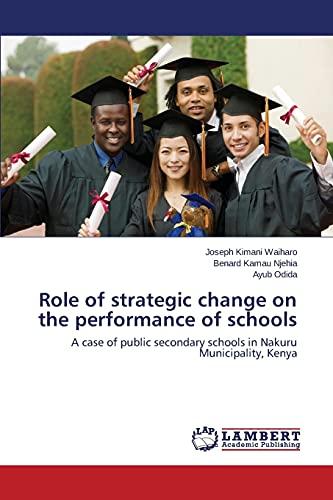 Role of strategic change on the performance: Waiharo, Joseph Kimani