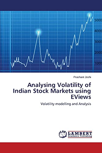 9783659575464: Analysing Volatility of Indian Stock Markets using EViews: Volatility modelling and Analysis