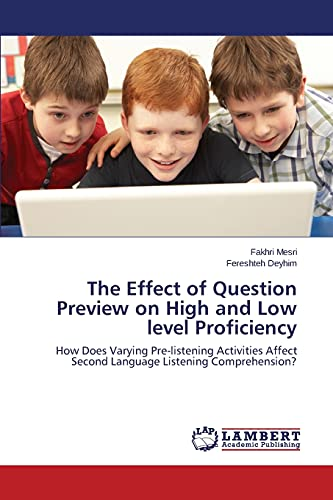 The Effect of Question Preview on High: Mesri, Fakhri