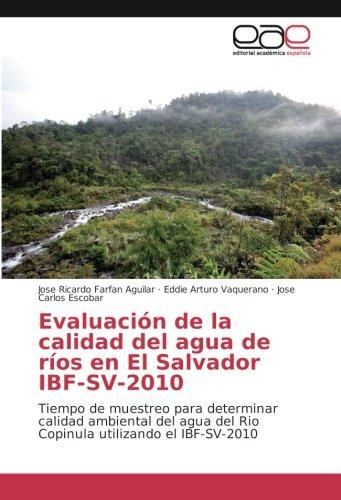 Evaluacià n de la calidad del agua: Jose Ricardo Farfan