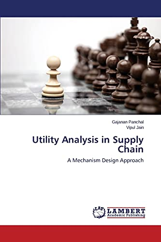 9783659680908: Utility Analysis in Supply Chain